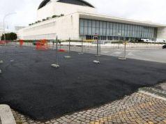 Rome tarmacs over cobblestones for Formula E