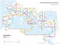 Roads built by the Romans