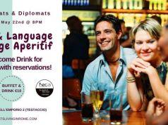 22 May - Rome Expats & Diplomats Social Language Exchange Aperitif