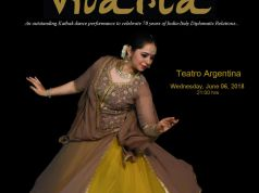 VIVARTA - A Kathak Dance Performance to celebrate 70  years of India-Italy Diplomatic relations