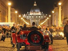 Mille Miglia vintage car rally comes to Rome
