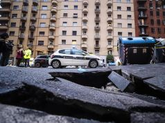Alarm raised over Rome sinkholes