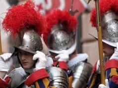 New PVC helmets for Swiss Guards