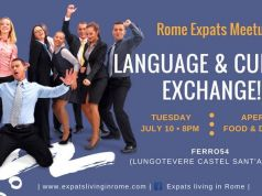 10 Jul - Rome Expats: Language & Culture Exchange (Castel Sant'angelo)