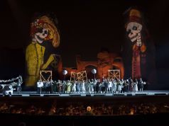 Carmen under the stars at the Baths of Caracalla