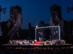 La Traviata under the stars at the Baths of Caracalla