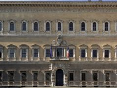 Rome - Palazzo Farnese opens for the European Heritage Days