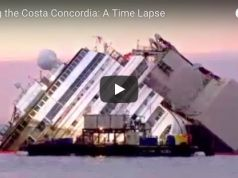 Costa Concordia Time laps