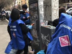 St. John's University Rome and Retake Roma clean up Prati