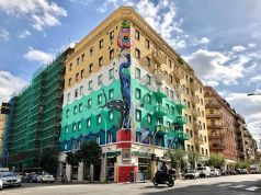 Rome unveils Europe's largest eco-friendly mural