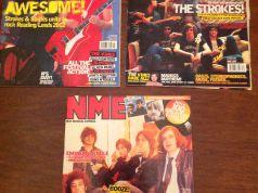 NME music magazine x 3 - free
