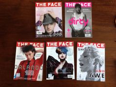 The Face lot UK magazines  (in English)