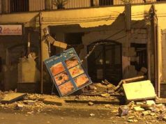 Catania hit by strong earthquake as Etna erupts