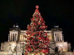 Rome's Netflix Christmas tree deemed a success
