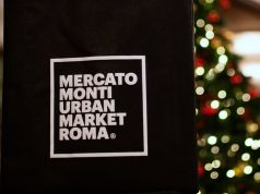 Christmas market at Mercato Monti in Rome