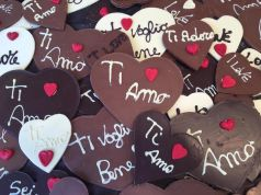 Valentine's Day chocolate festival in Umbria