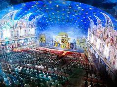 Pope invites 1,300 poor people to theatre