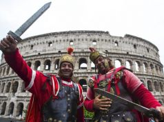 Rome bans centurions from city's historic centre