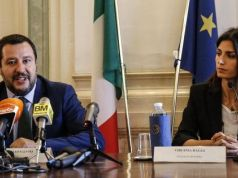 Rome mayor in Twitter spat with Salvini