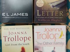 Lot of 4 English paperback books
