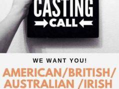 Movie Casting- Male 45-75 yrs - American/Irish/British/Australian ONLY