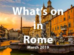 What to do in Rome in March 2019