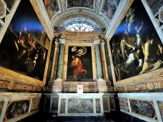Where to see Caravaggio paintings in Rome