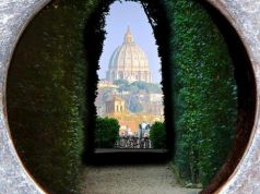 Unexpected Rome: view through Aventine keyhole
