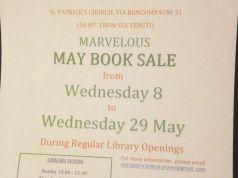 May English Language Used Book Sale