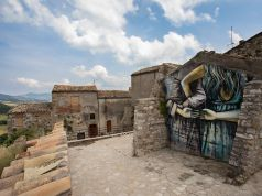 Street artists breathe new life into ancient Italian village