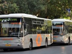 Rome's 70 buses from Israel don't meet EU emission standards