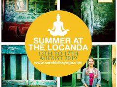 Summer yoga retreat- short and sweet