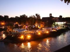 Isola del Cinema: open-air cinema on Tiber Island
