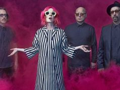 Garbage concert at Villa Ada in Rome