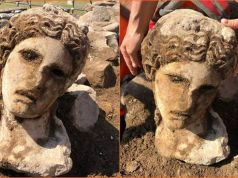 Experts say ancient head found in Rome is Dionysus