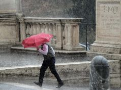 Storm warning in Rome