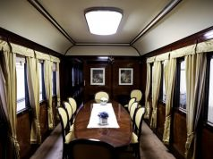 Visit historic train of kings and presidents in Rome