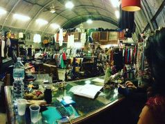 Vintage eco-friendly market in Ostiense