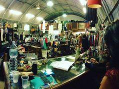 Vintage eco-friendly market in Ostiense