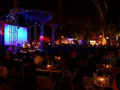 Summer jazz festival at Villa Celimontana in Rome