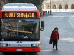 Rome public transport strike on 25 June