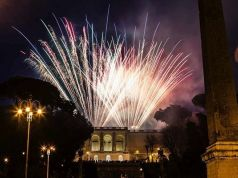 Fireworks for Rome's patron saints on 29 June
