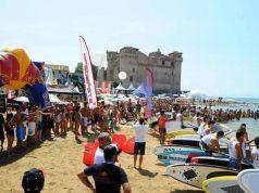 Italia Surf Expo at S. Severa beach near Rome