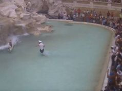 Rome fountains not swimming pools says mayor