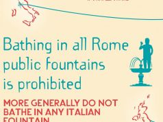 British embassy to Italy warns UK tourists not to bathe in Rome fountains