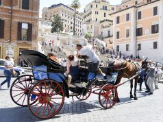 Rome moves horse-drawn carriages off streets