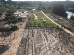 Rome reopens artificial beach on Tiber banks