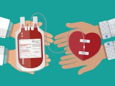 Rome's international community donates blood