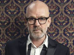 Michael Stipe at MAXXI in Rome