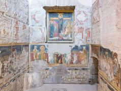 Rome's mediaeval Sistine Chapel in Roman Forum